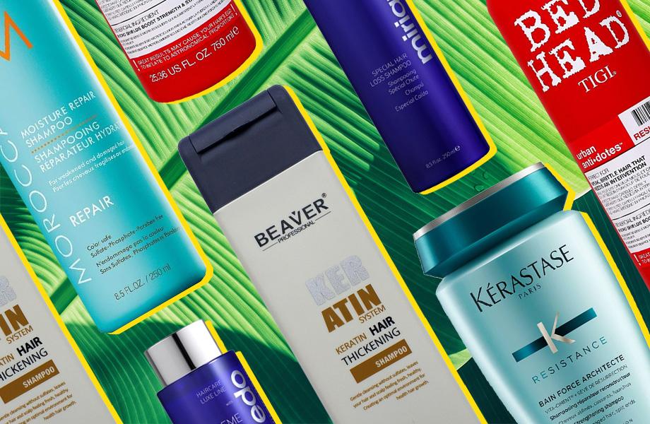 Лучшие шампуни для поврежденных волос