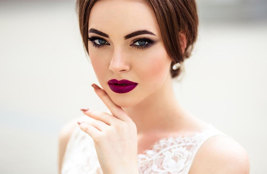 Свадебный макияж зимой: главные правила