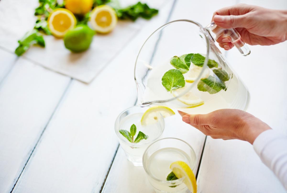 вода с лимоном для иммунитета