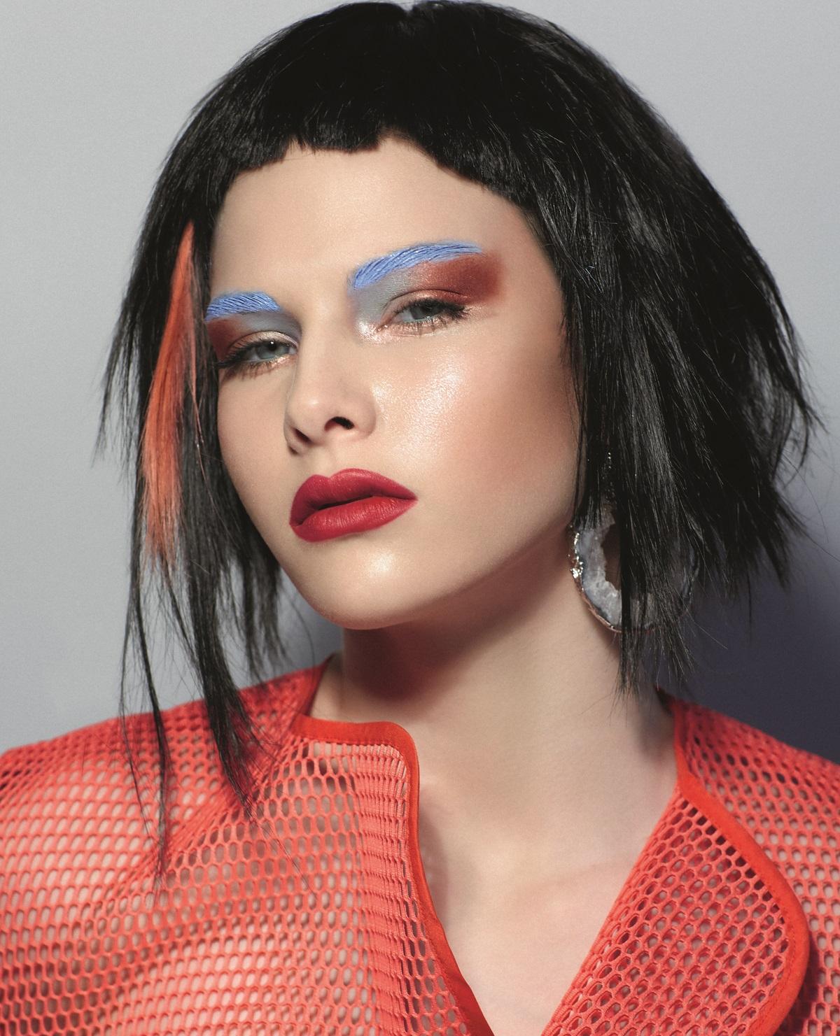 макияж со стрелками 2019