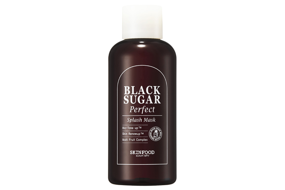 Skinfood, Black Sugar Perfect Splash Mask