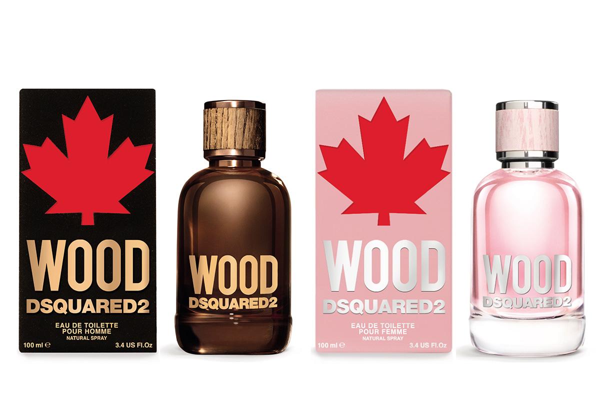 Dsquared2, Wood Pour Homme & Pour Femme