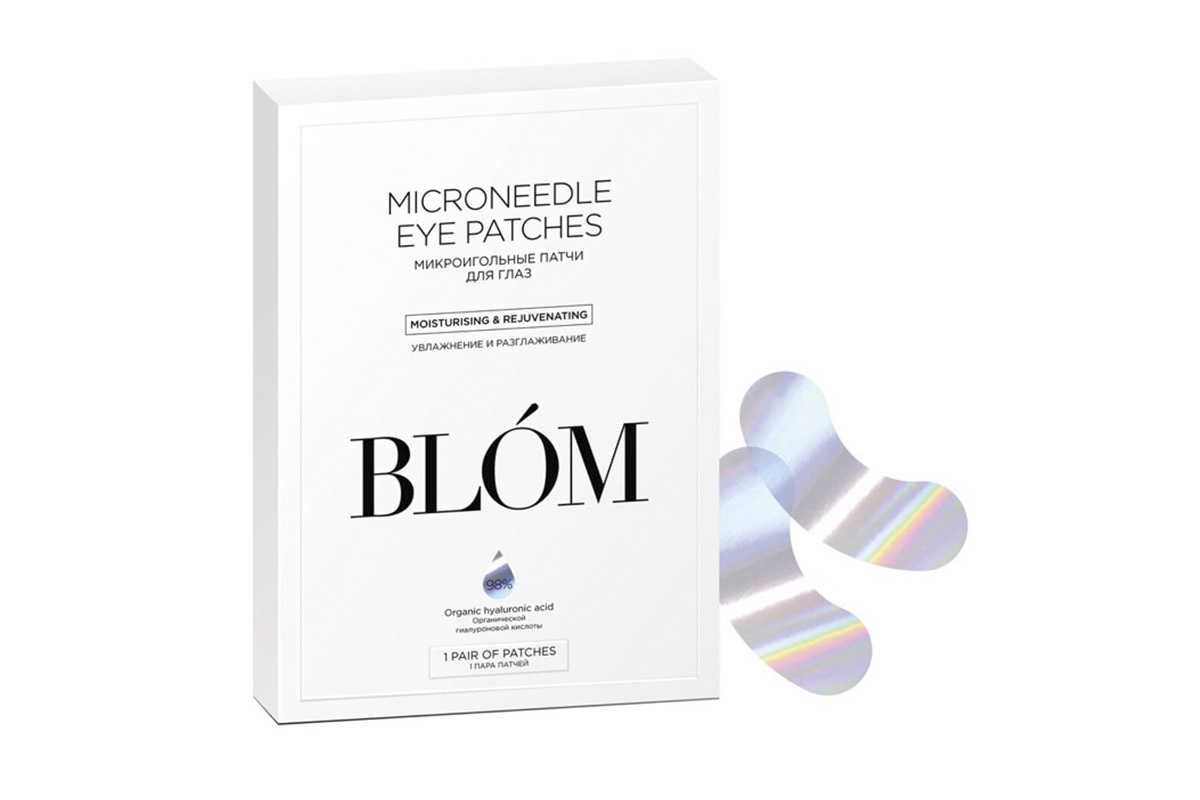 BLOM Microneedle Eye Patches