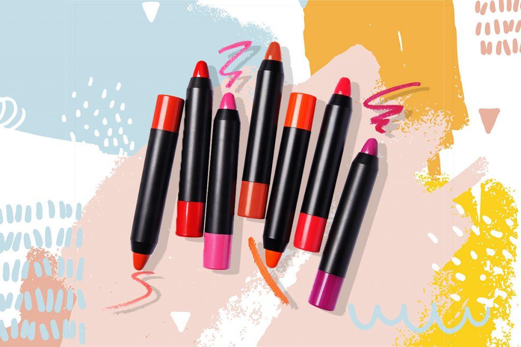 виды косметических карандашей