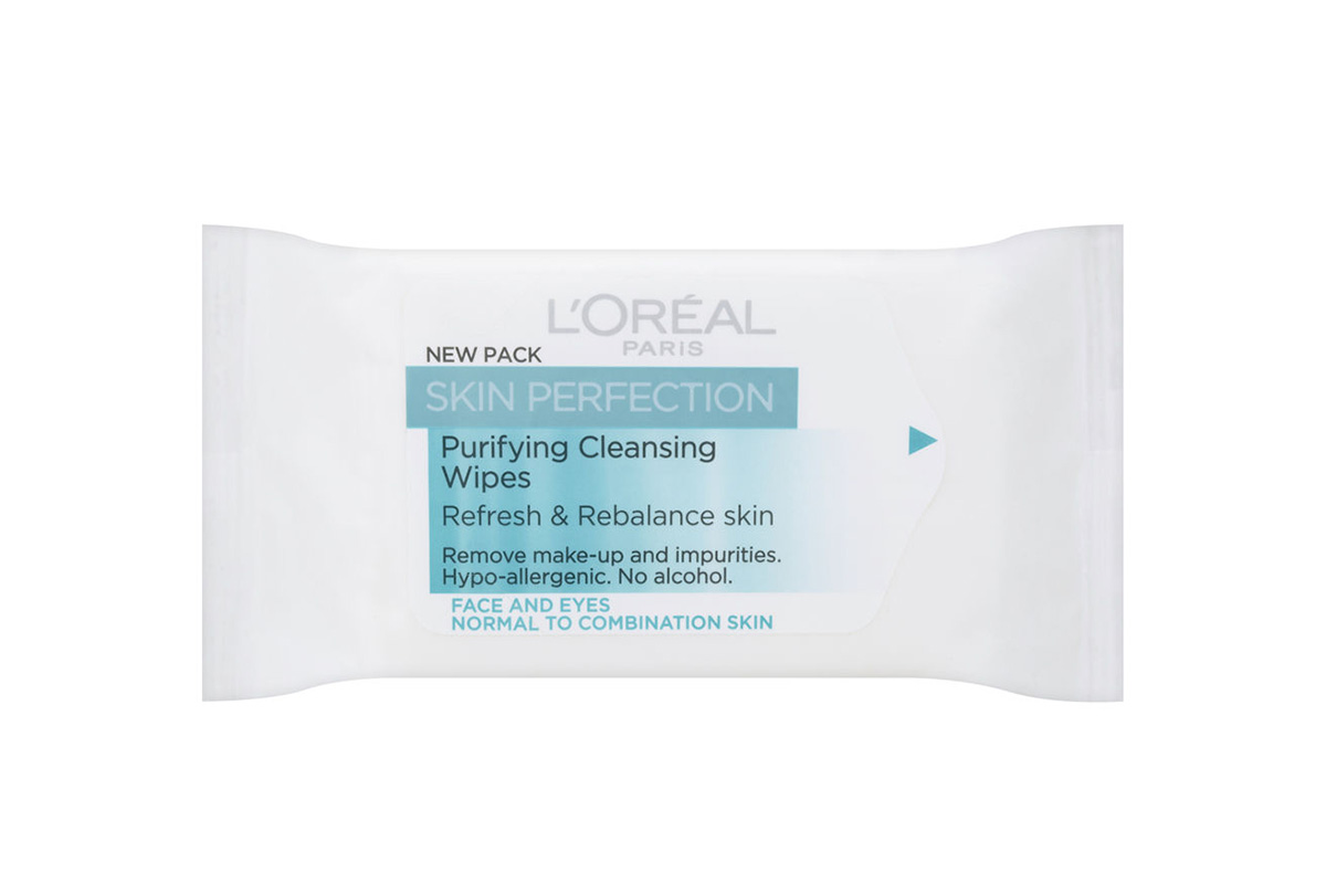 L'Oreal Paris Skin Perfection Purifying Cleansing Wipes