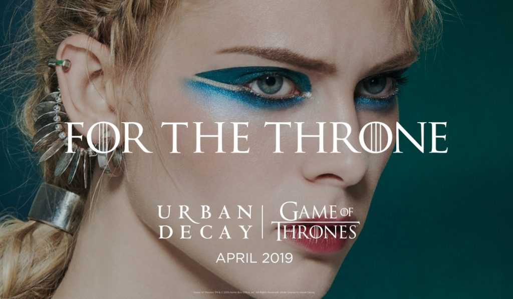 Game of Thrones Urban Decay.