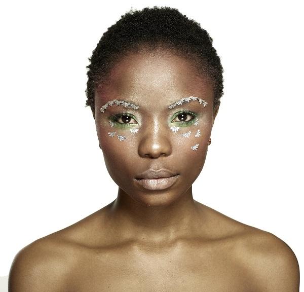 креативный весенний макияж