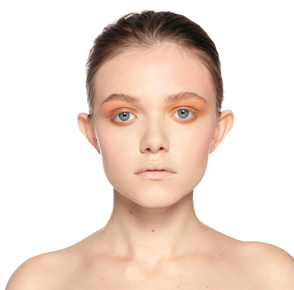 влажные веки макияж