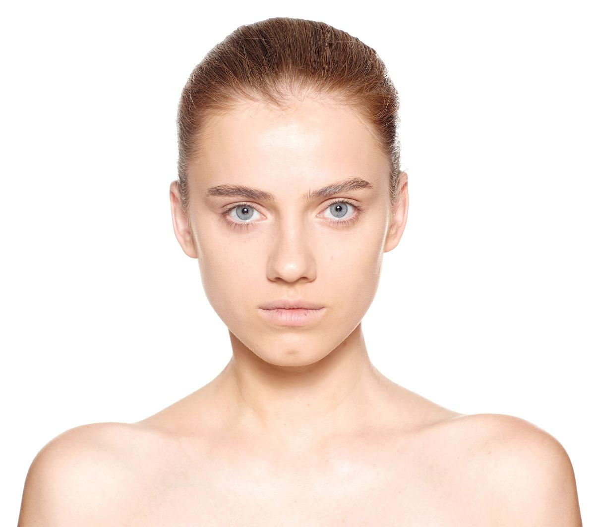 Макияж глаз с эффектом металлик