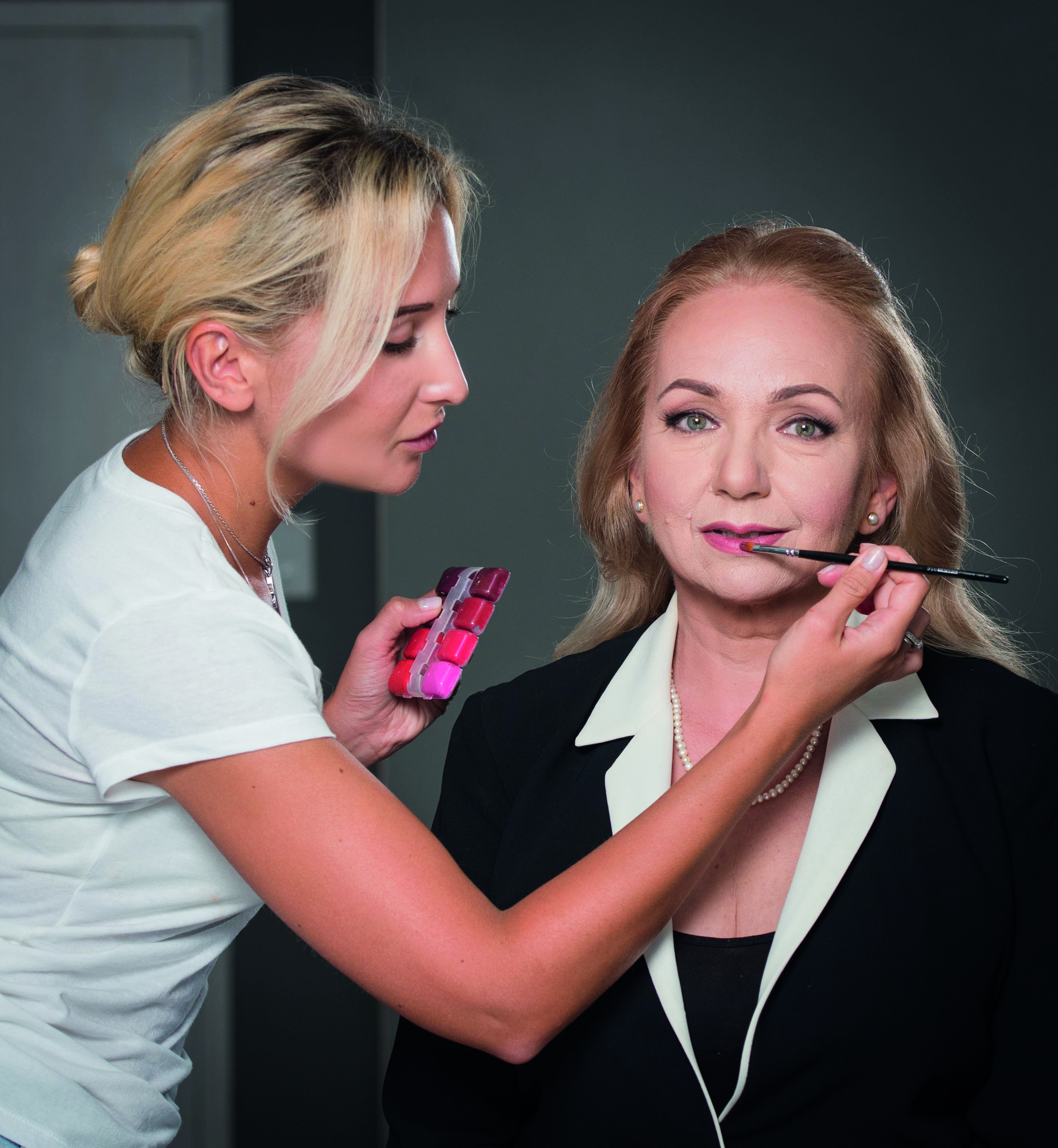 Алла Якимова-Маклюк макияж для телеведущих