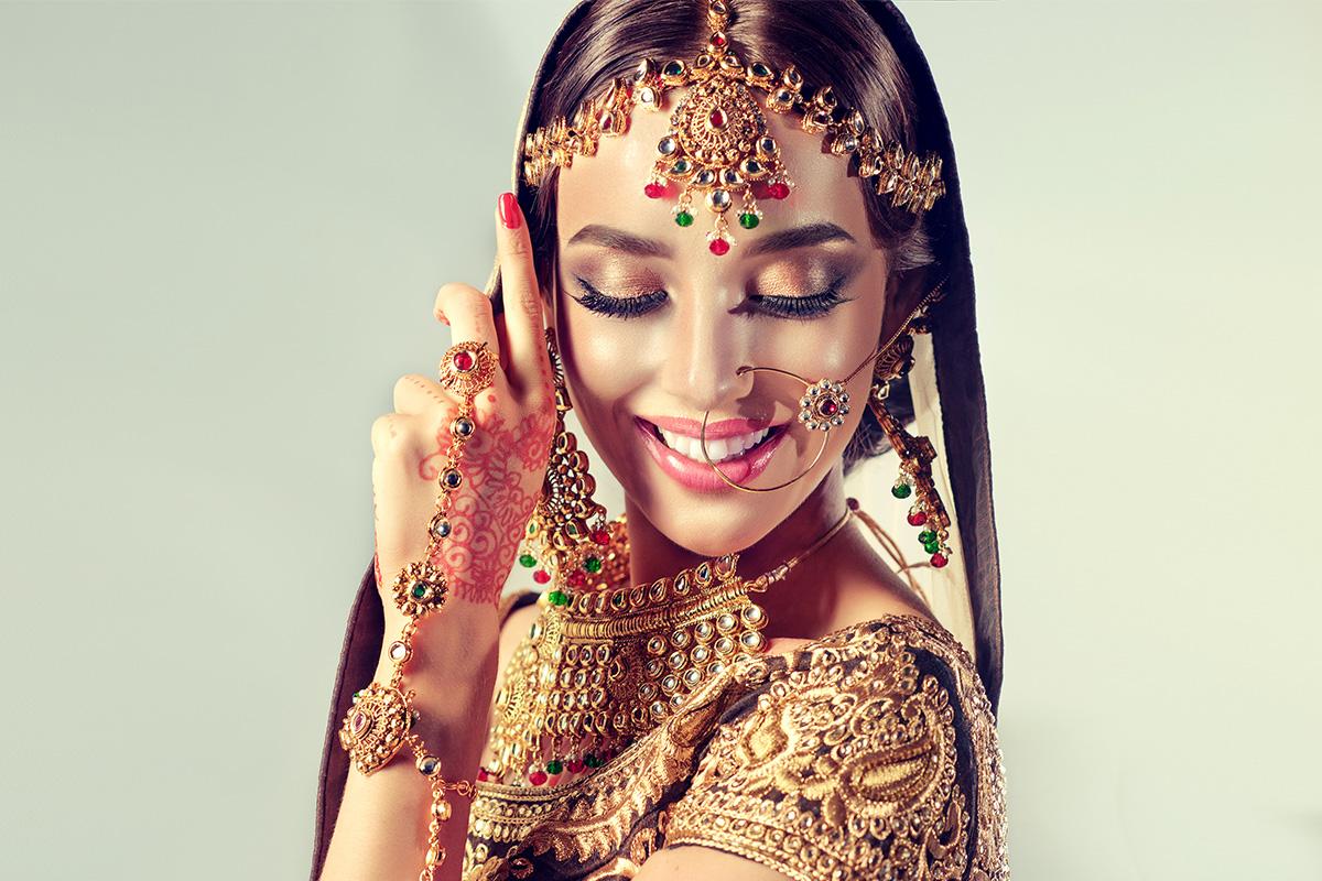 Свадебный макияж в стиле Болливуд: разрушаем стереотипы