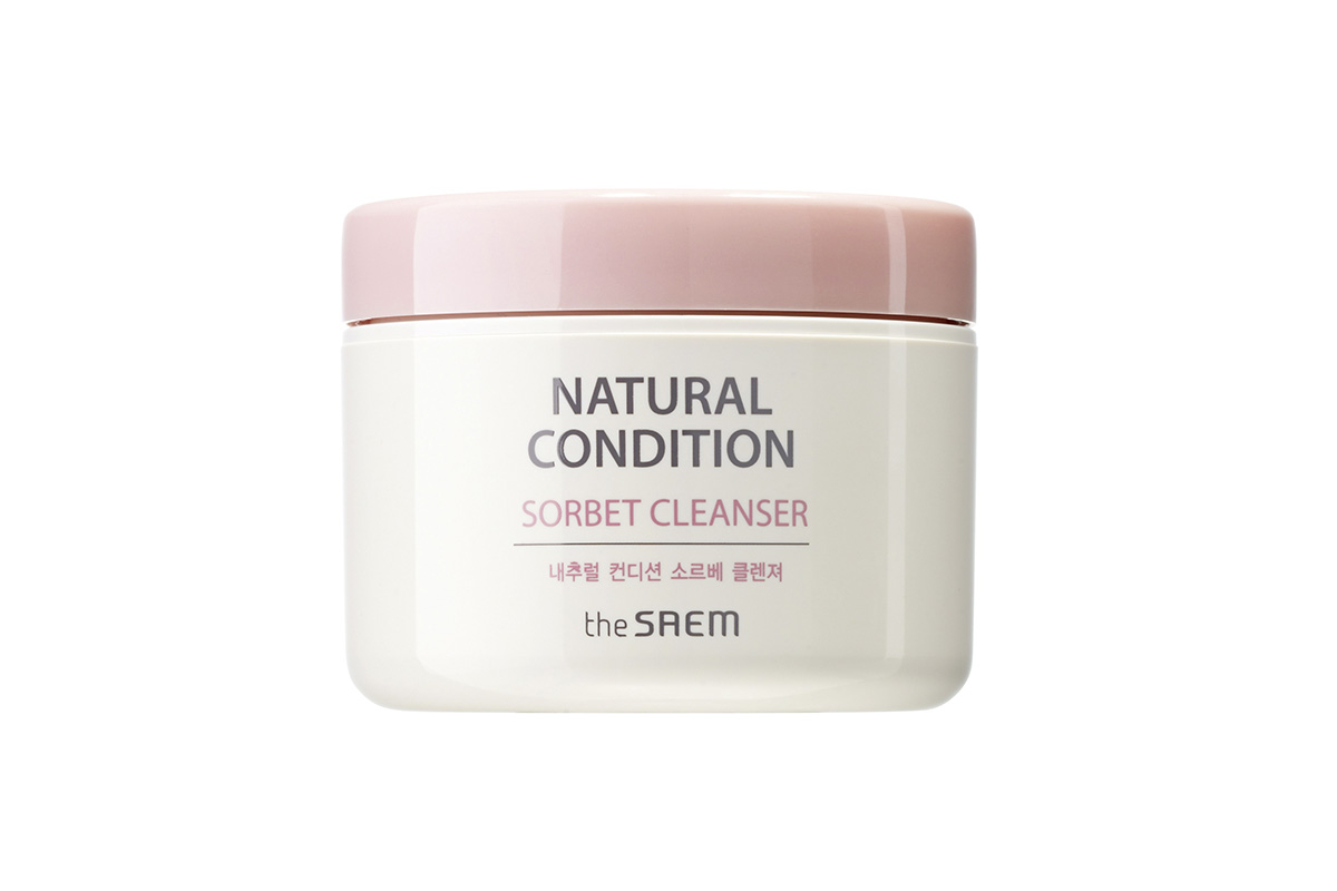 The Saem Natural Condition Sorbet Cleanser
