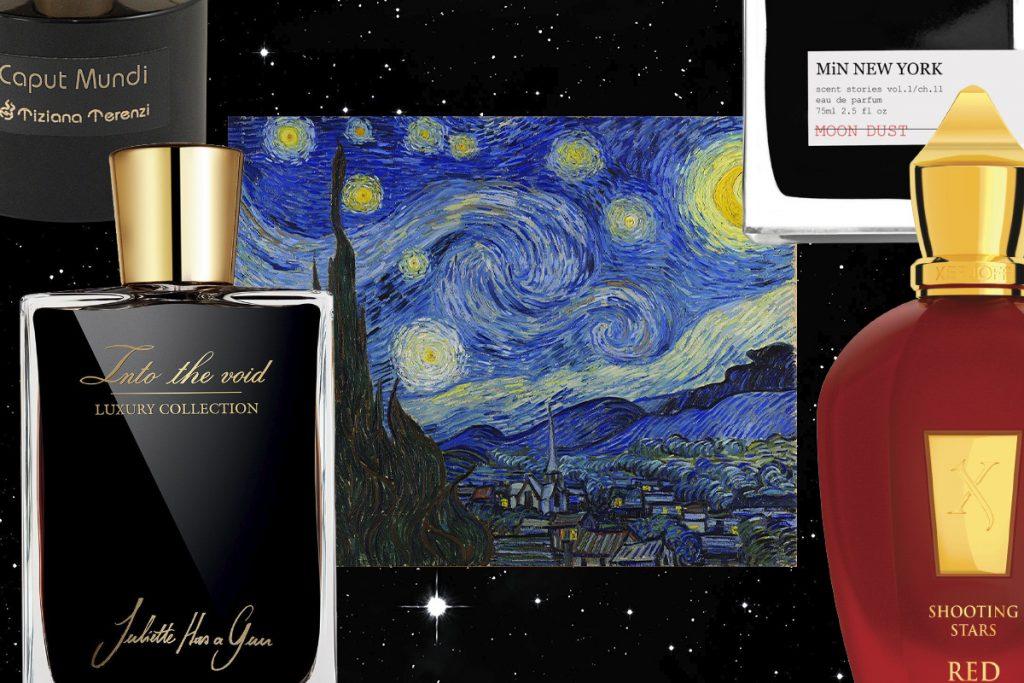 ароматы небесных тел и темноты