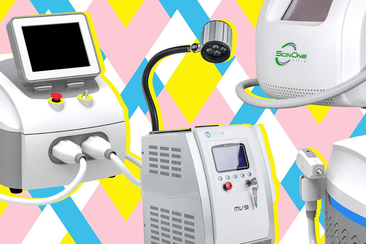 Лазерные аппараты для удаления перманентного макияжа: причины поломки