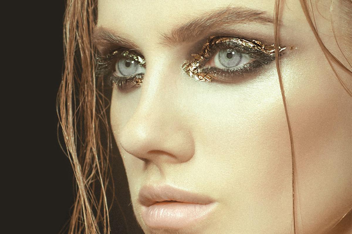 Макияж глаз с эффектом металлик: пошаговая технология