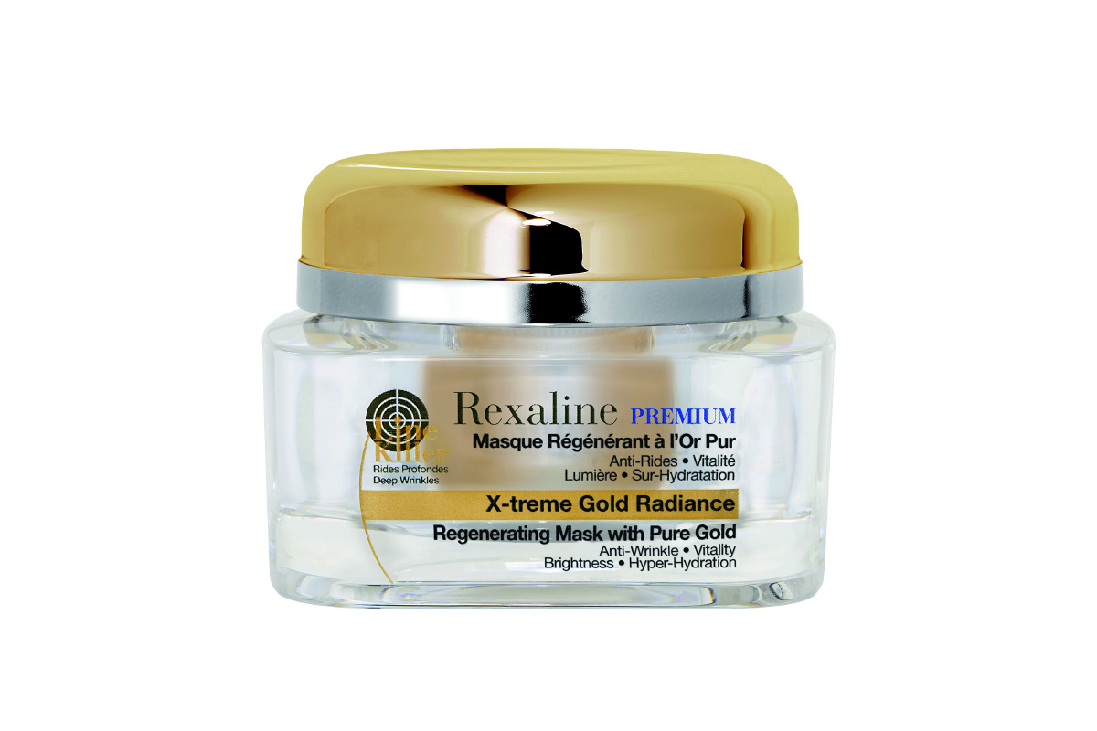 Rexaline, Premium Line Killer X-Treme Gold Radiance Mask