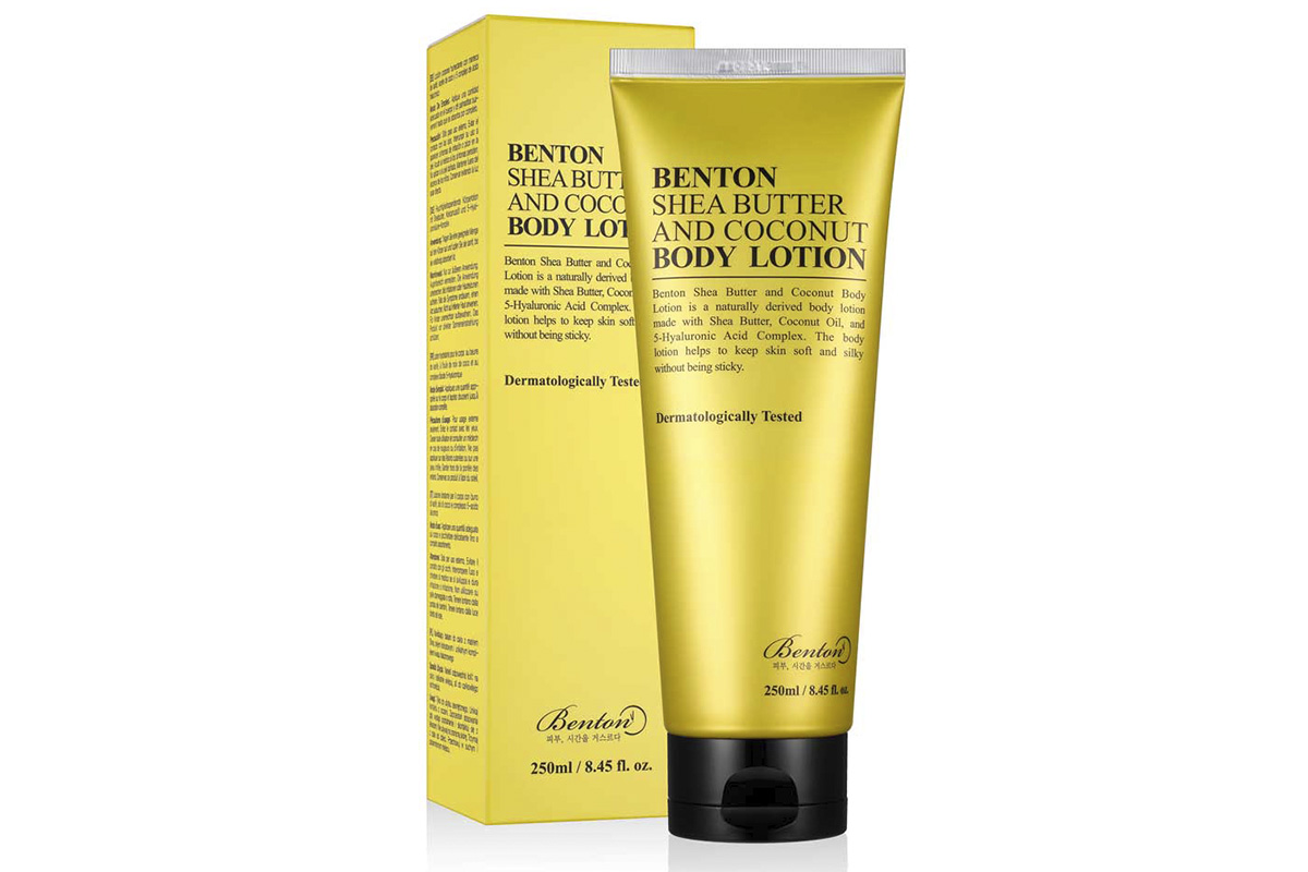 Benton, Shea Butter And Coconut Body Lotion