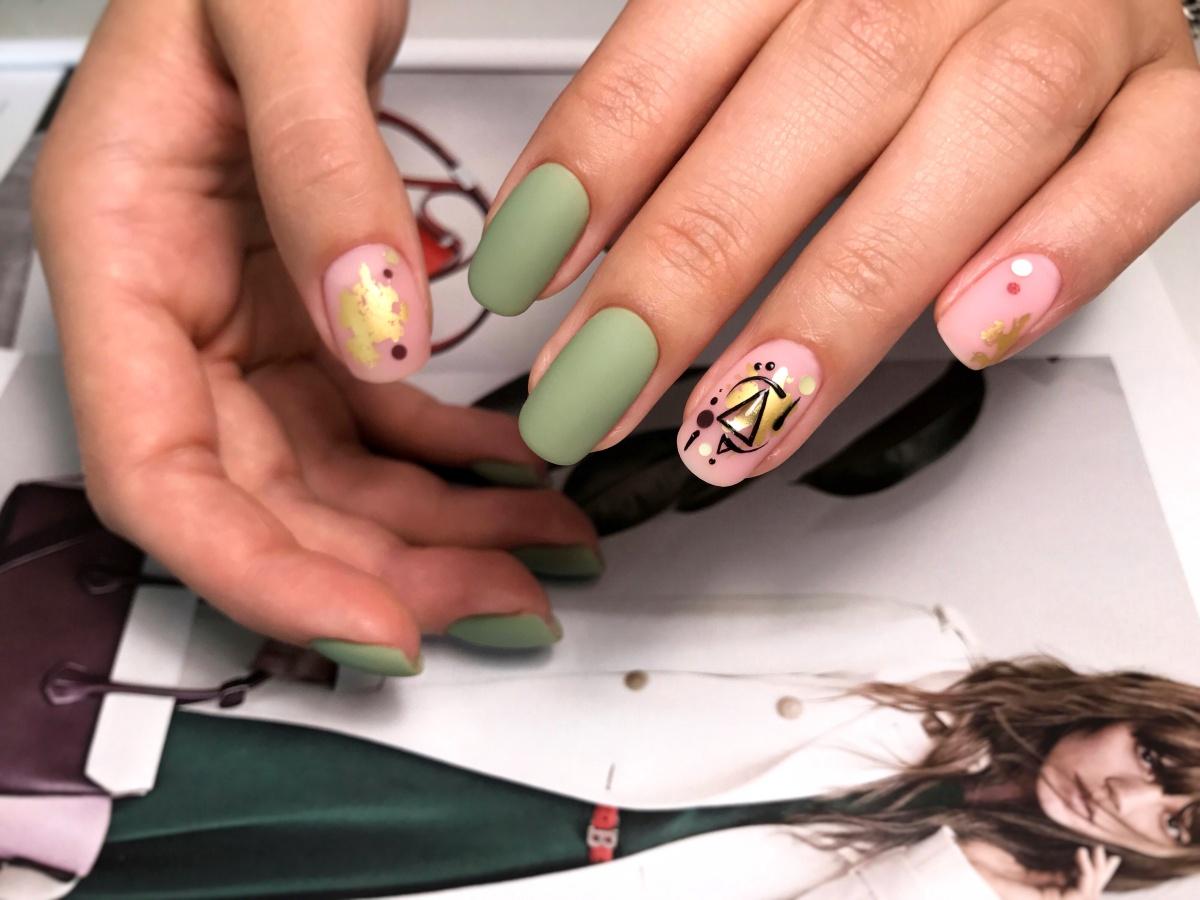 Модный дизайн ногтей в стиле Fusion: мастер-класс с фото