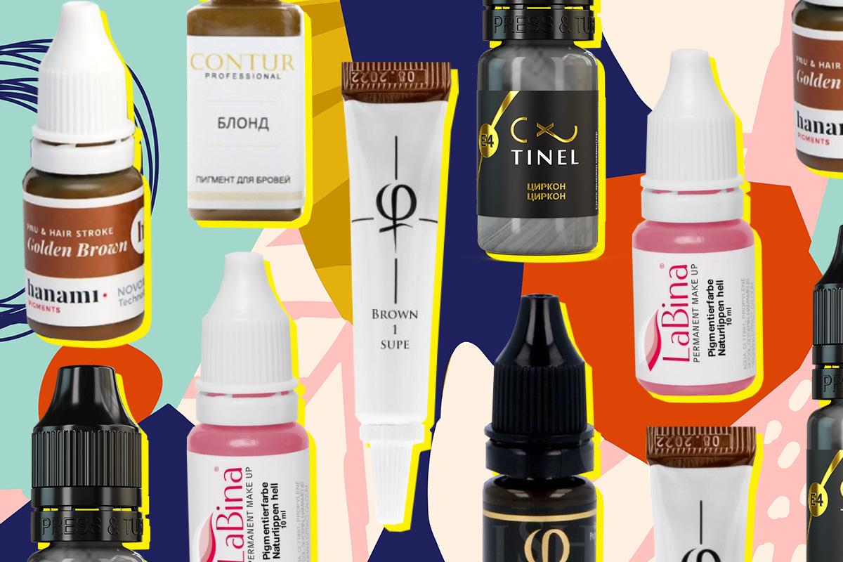 Пигменты для перманентного макияжа: обзор рынка