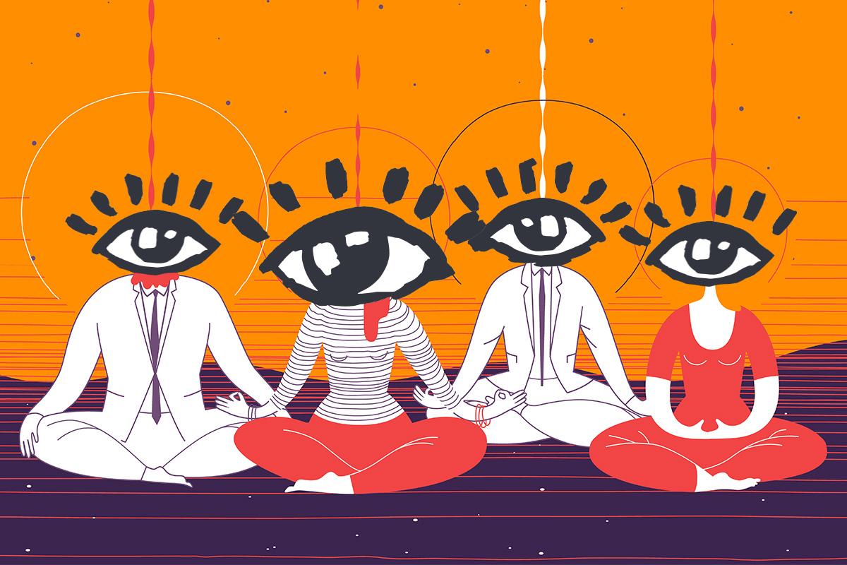 Йога для глаз