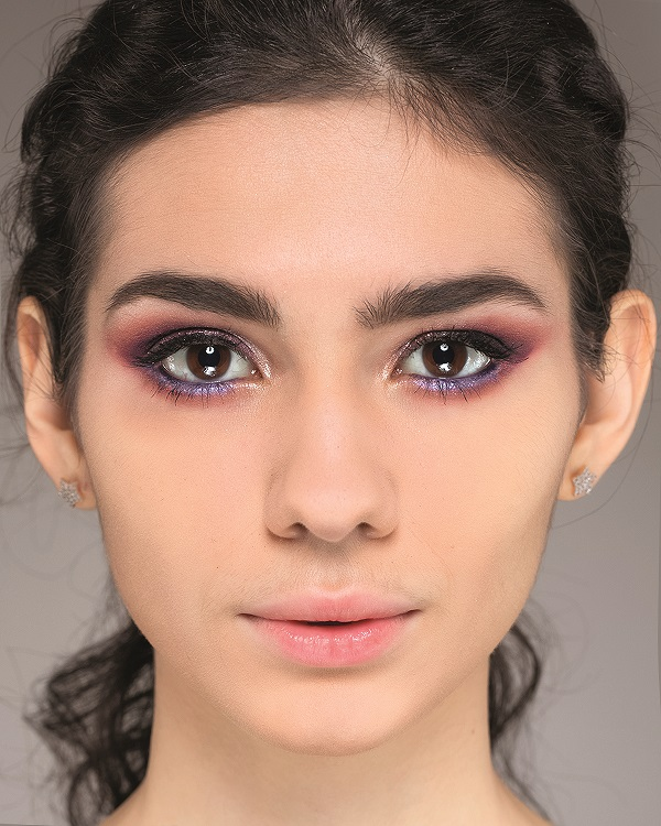 макияж на выпускной для карих глаз