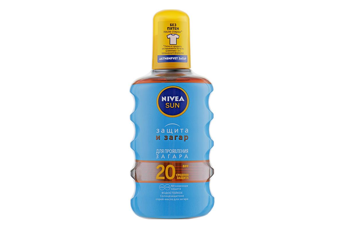 Масло-спрей для загара Nivea Sun Care Protection Spray