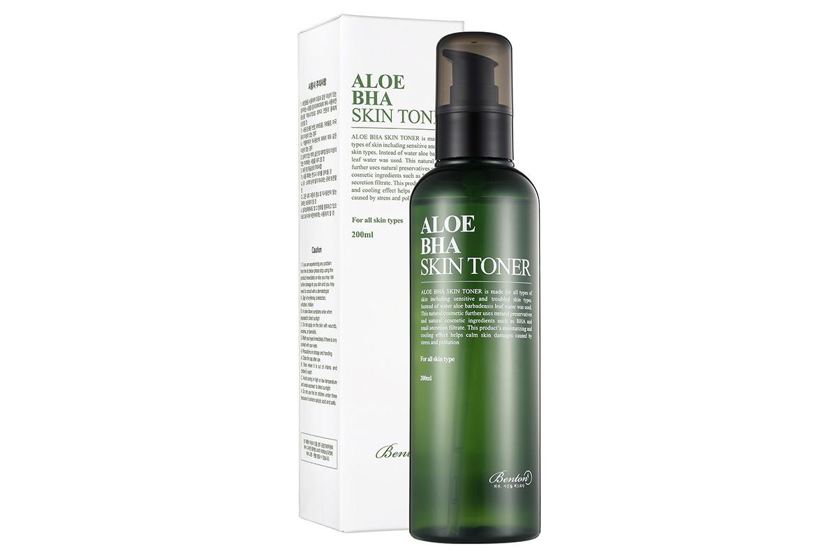 Benton Aloe BHA Skin Toner (салициловая кислота (0,5%)