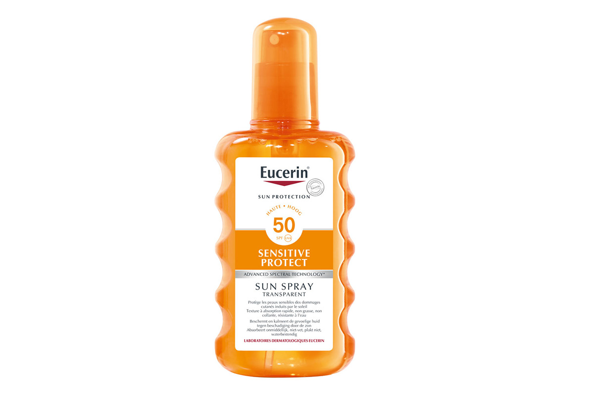 Eucerin Sun Spray Transparent SPF 50