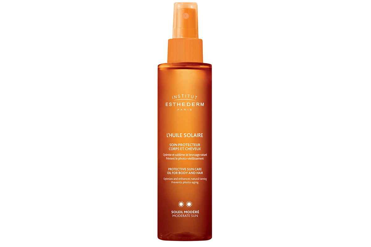 Institut Esthederm, L'Huile Solaire Protective Sun Care Oil for Body and Hair