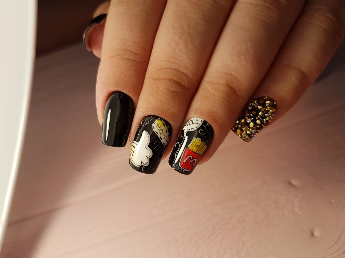 Стильный дизайн ногтей: мастер-класс (фото)