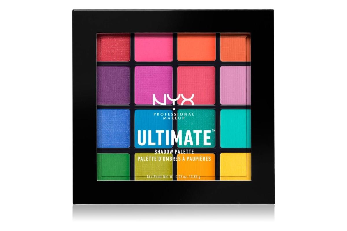 NYX Professional Ultimate Multi-finish Eyeshadow Palette