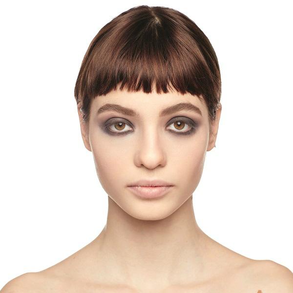 дымчатый макияж для карих глаз