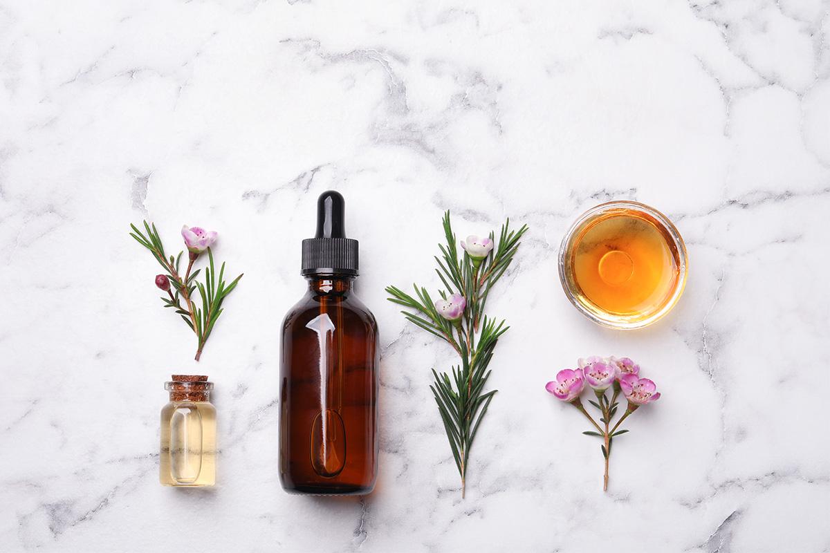 Масло чайного дерева поможет справиться с акне и повышенной жирностью кожи летом