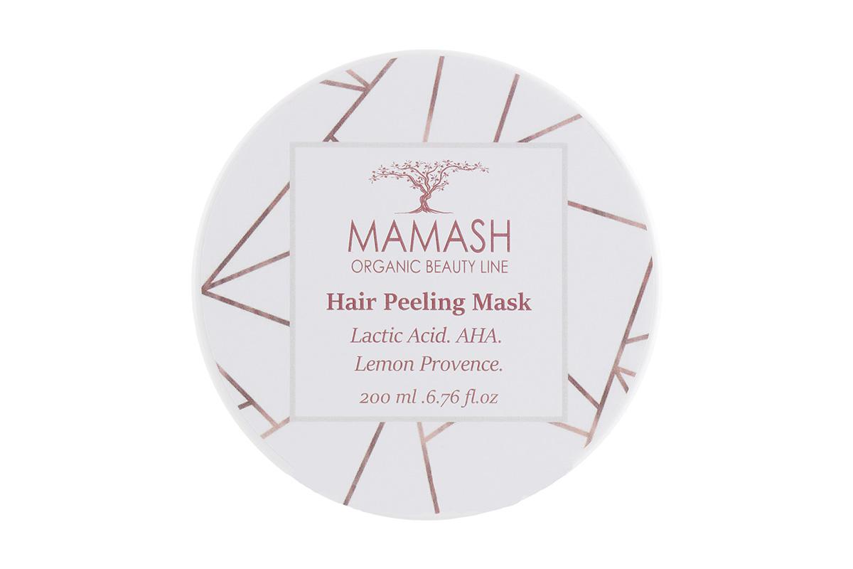 Mamash Organic Beauty Line Hair Peeling Mask