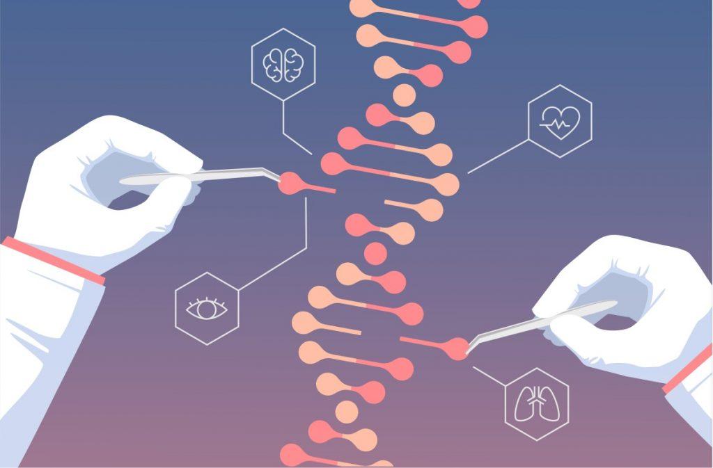 редактирование гена CRISPR