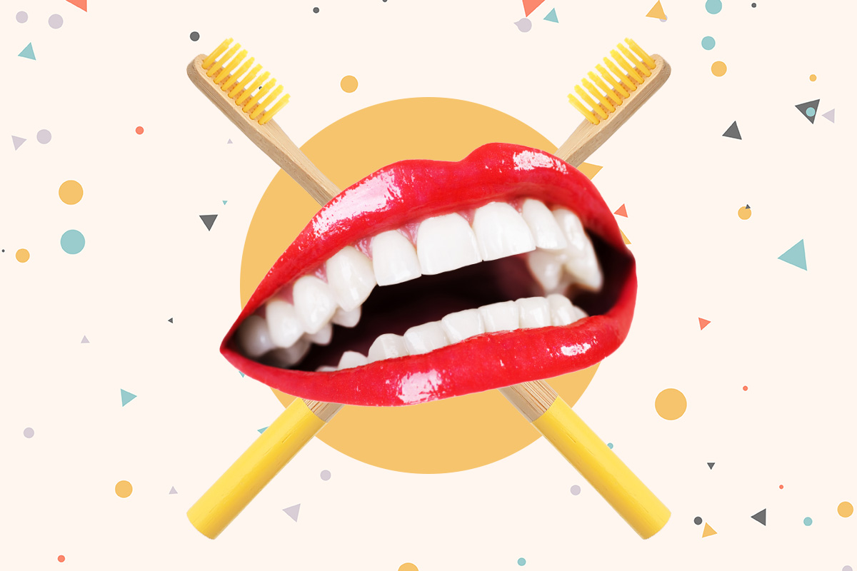 народные способы отбеливания зубов