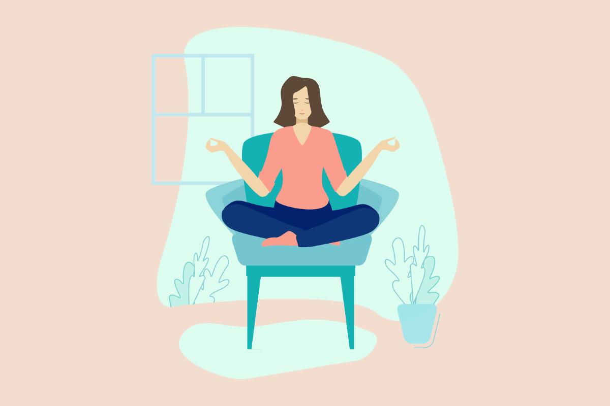 Проста йога: сидячи в машині, офісі й літаку