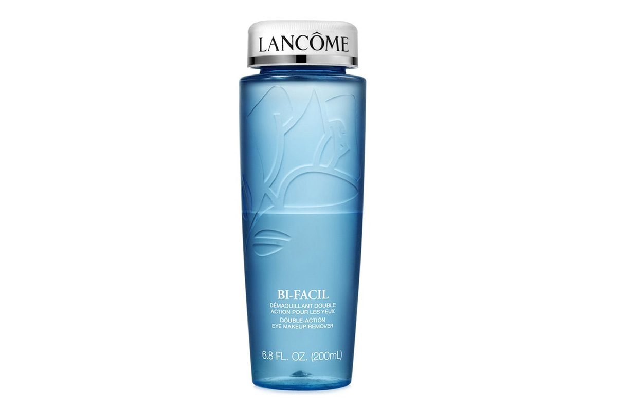 Lancôme Bi-Facil Double-Action Eye Makeup Remover; SENSAI Mud Soap
