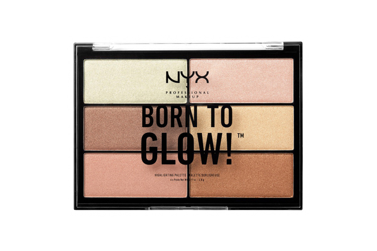 NYX Professional Makeup Professional Born to Glow Highlighting Palette