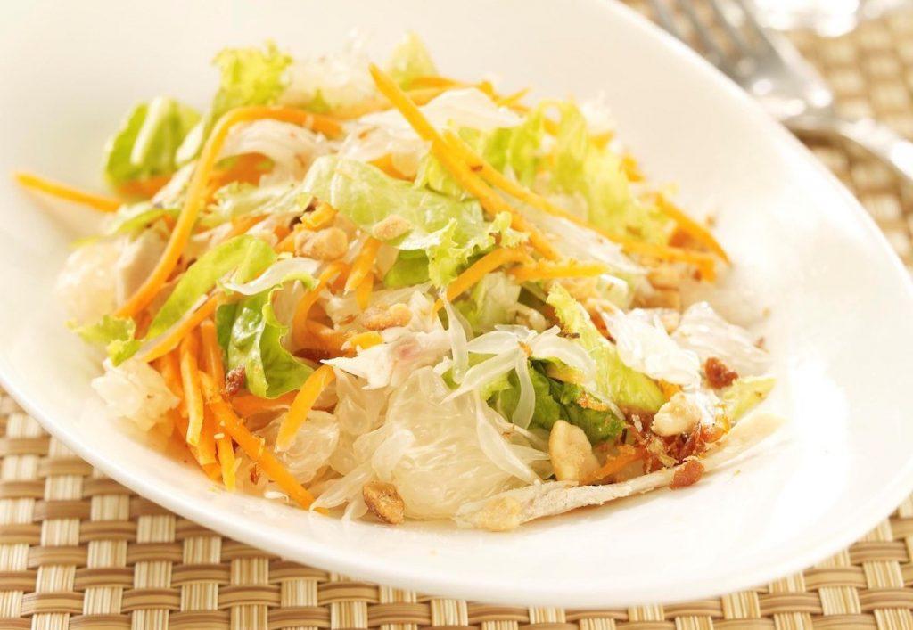 рецепт вьетнамского салата с помело