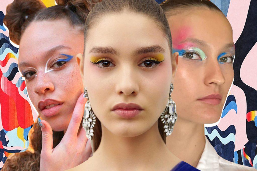 тренды макияжа на весну 2020