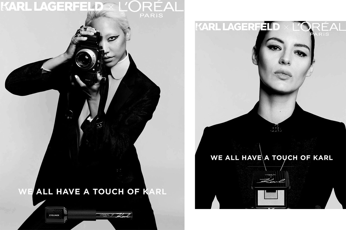 Что входит в коллекцию косметики L'Oréal X Karl Lagerfeld