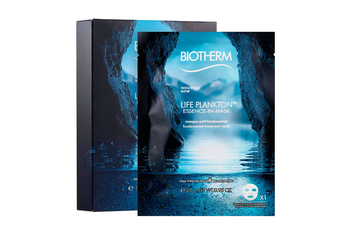 Biotherm Life Plankton Essence in Mask for Glowing Skin