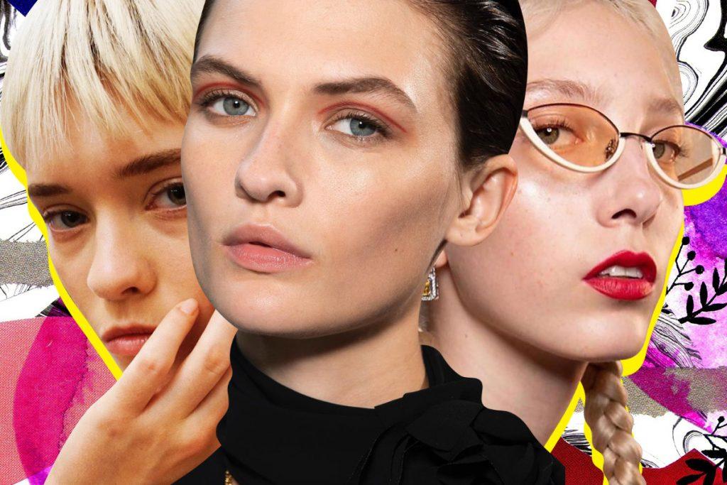 тренды в макияже на весну 2020 - LFW