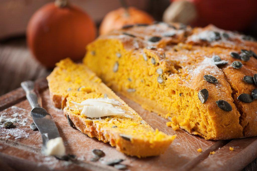 Гарбузовий хліб