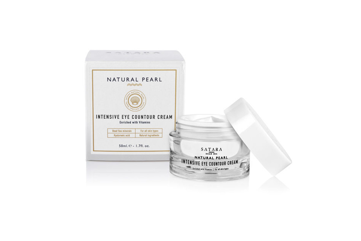 Satara, Natural Pearl Intensive Eye Countour Cream
