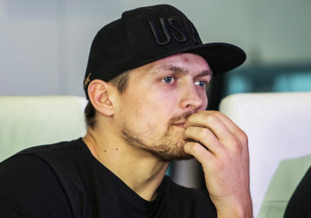Александр Усик и женский бокс