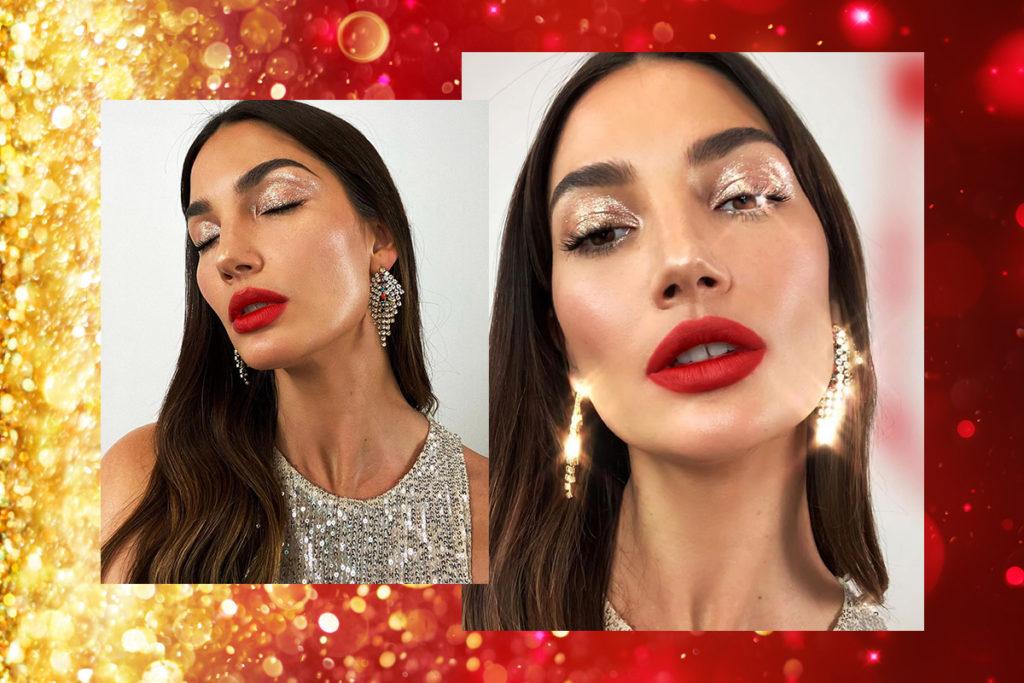 макияж на Рождество 2020