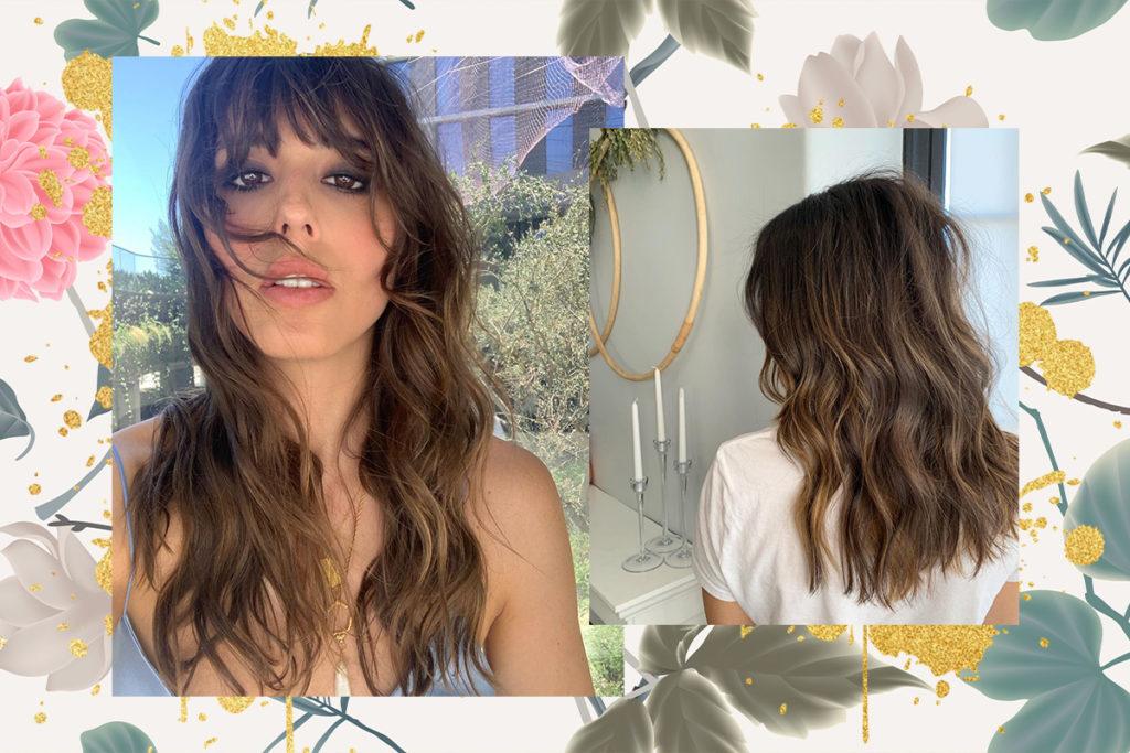 модный цвет волос 2020 для брюнеток