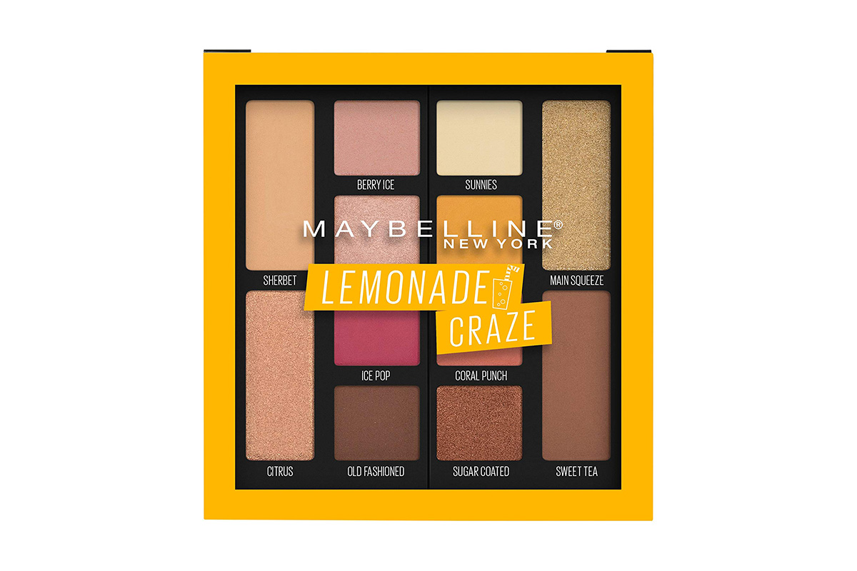 Maybelline New York, Lemonade Craze Eyeshadow Palette